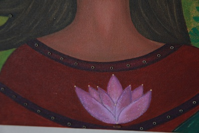 Detail work / Real Lotus seed