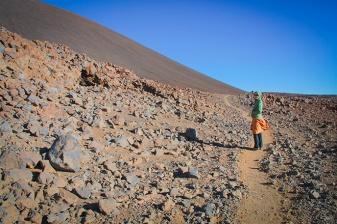 Walking on Mauna Kea beauty