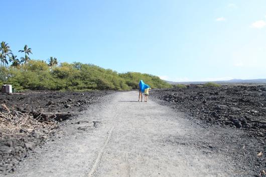 Hike to Makalawena