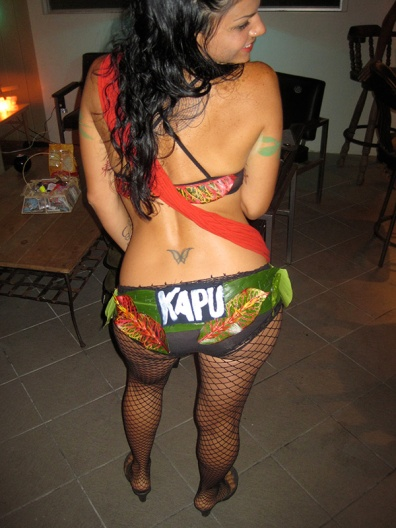 Kapu! No trespassing - Sacred site!