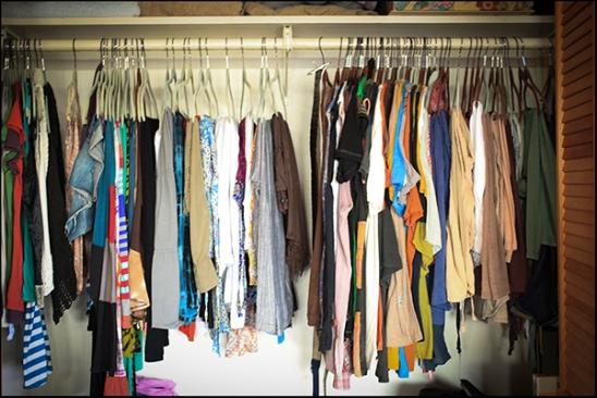 Our closet :)